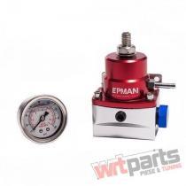 Fuel pressure regulator EPMAN BYPASS AN6 with gauge - CN-FP-023