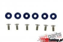 Bolts and nuts universal JDM 8mm blue EP-SR-001