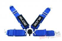 "Racing seat belts SLIDE Qucik 4p 3"" Blue JB-PA-053"