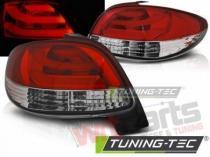 PEUGEOT 206 10.98- RED WHITE LED BAR LDPE20