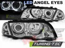 BMW E46 05.98-08.01 S/T ANGEL EYES LED CHROME LPBMG0