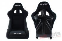 Racing seat SLIDE KS2 BLACK MN-FO-081