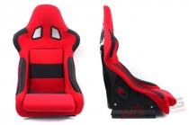 Racing seat RICO material RED MN-FO-027