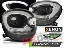 Faruri cu Tube Light Negru pentru Mini R60 R61 Countryman  Tuning-Tec LPMC17