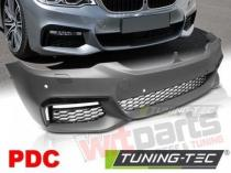 Front bumper extension BMW G30 G31 17- M-TECH STYLE PDC - ZPBM54