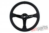 Steering wheel SLIDE 350mm offset:90mm Carbon Black - PP-KR-037