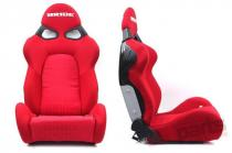 Racing seat CUGA BRIDE RED MN-FO-022