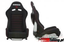 Racing seat LOW MAX K608 BLACK - MN-FO-047