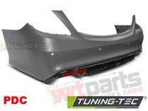 Rear Bumper MERCEDES S-KLASA W222 13-17 AMG S63 ZTME13