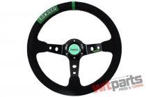 Steering wheel Pro 350mm offset:80mm Takata Suede - PP-KR-010