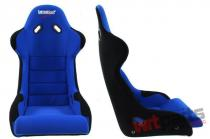 Racing Seat Bimarco Cobra II Velvet Black/Blue - MN-FO-121