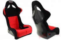 Racing Seat Bimarco Futura Velvet Black/Red FIA MN-FO-138