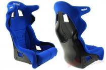 Racing Seat Bimarco Grip Velvet Blue/Black HANS FIA - MN-FO-141