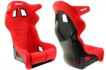 Racing Seat Bimarco Grip Velvet Red HANS FIA MN-FO-142