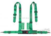 "Racing seat belts 4p 2"" Green - Takata Replica - JB-PA-032"