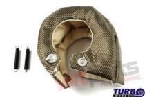 Exhaust turbo blanket T4 titanium type 1 MG-TT-026