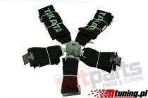 """Racing seat belts 5p 3"""" Black - Takata - JB-PA-022"""