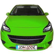 Grille badgeless,  black suitable for Opel Corsa E year 11.20 6320072OE