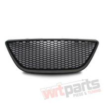 Grille badgeless with mesh,  black suitable for Seat Ibiza 6J 6J853653JOE