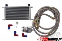 Oil Cooler KIT D1Spec 19 rows + Relocation DS-OT-004
