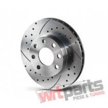 Rear Sport Brake Disks ALFA ROMEO 164,  FIAT BRAVO,  STILO - 1470-GL/T5