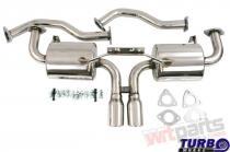 Exhaust CatBack - Porshe Cayman,  Cayman S MG-CB-018
