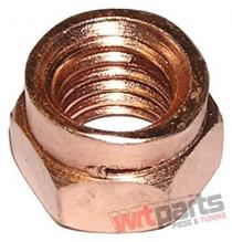Exhaust Nut Copper Plated 4601 M8X12X1 - TW-NK-006