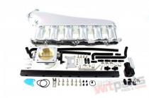 Intake manifold Nissan RB26 with throttle body and fuel rail - MP-KD-021