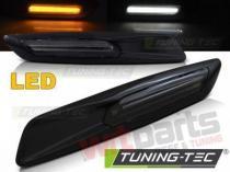 BMW E60/ E90/ E92/ E82 LED F10 STYLE SMOKE GLOSSY BLACK KBBM34