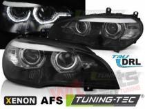 BMW X5 E70 07-10 AE DRL LED BLACK AFS HID - LPBMK0