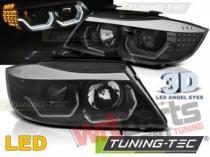 BMW E90/E91 05-08 3D AE LED BLACK TAILLIGHTS LPBMK8