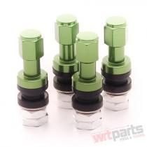Set of Aluminum air valves JR v2 - GREEN JRAV2-GR