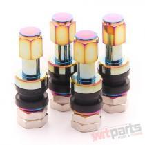 Set of Aluminum air valves JR v2 - NEOCHROME JRAV2-N