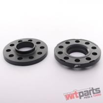JRWS2 Spacers 15mm 5x112 66,  6 66,  6 Black - JRWS2-15MM-5L-66BK
