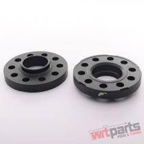 JRWS2 Spacers 20mm 5x120 72,  6 72,  6 Black - JRWS2-20MM-5I-72BK