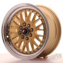 Japan Racing JR10 15x7 ET30 4x100/108 Gold JR10157143074GD