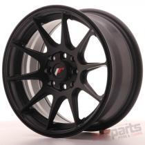 Japan Racing JR11 15x7 ET30 4x100/114 Flat Black JR11157043067FB