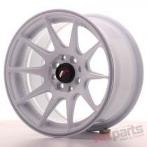 Japan Racing JR11 15x8 ET25 4x100/108 White JR11158142567W1