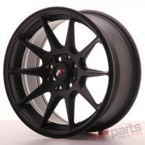 Japan Racing JR11 16x7 ET25 4x100/108 Flat Black - JR11167142567FB
