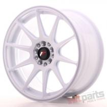 Japan Racing JR11 17x8,  25 ET25 4x100/108 White JR111782142573W