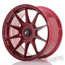 Japan Racing JR11 17x8,  25 ET35 Blank Platinum Red JR111782XX3567RP1