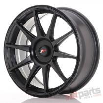 Japan Racing JR11 18x7,  5 ET35-40 Blank Flat Black JR111875XX3574FB