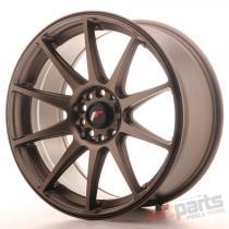 Japan Racing JR11 18x8,  5 ET40 5x112/114 Dark Bronze JR111885ML4074DBZ