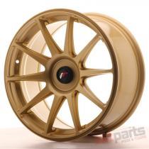 Japan Racing JR11 18x8,  5 ET35-40 Blank Gold - JR111885XX3574GD1