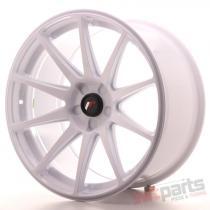 Japan Racing JR11 19x9,  5 ET35 5H Blank White JR1119955X3574W
