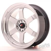 Japan Racing JR12 17x8 ET35 5x112/120 Hyper Silver JR121780MP3573HS