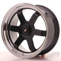 Japan Racing JR12 17x8 ET35 Blank Gloss Black JR12178XX3574GB