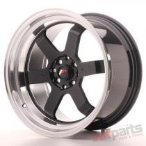 Japan Racing JR12 17x9 ET25 5x100/114 Gloss Black JR12179052573GB