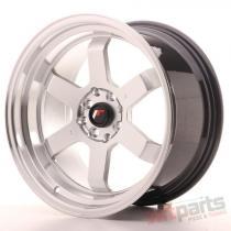 Japan Racing JR12 17x9 ET25 5x100/114 Hyper Silver JR12179052573HS