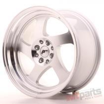 Japan Racing JR15 17x9 ET25 4x100/108 Machined Silver JR15179142574S